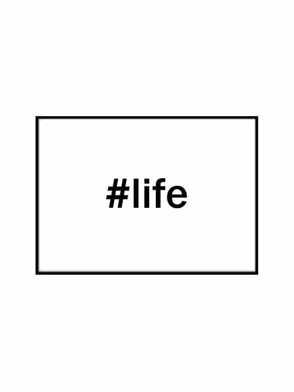 Poster – life storlek 21x30