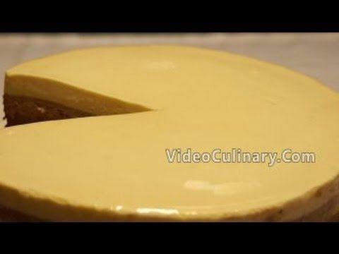 Shiny Clear Mirror Glaze Recipe - Video Culinary