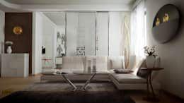 Soggiorno accogliente : Soggiorno in stile in stile Eclettico di LANGOLO HOME LIVING