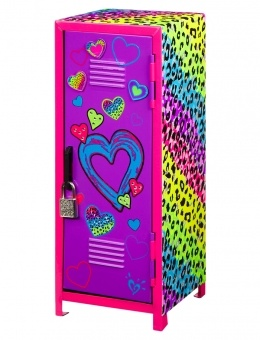 Leopard Mini Locker IT WOULD BE A COOL LOCKER FOR MY AMERICAN GIRL DOLL
