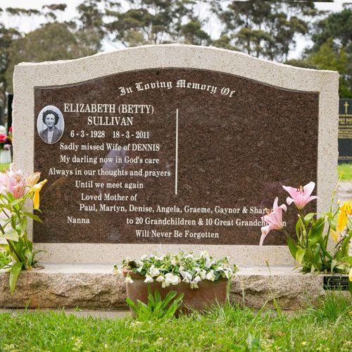 Headstones for Dear ones
