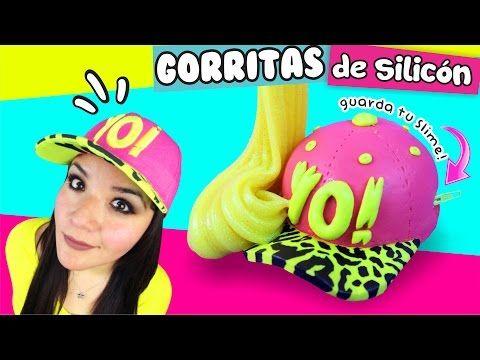 MINI GORRITAS de Silicón con SLIME DENTRO! ★ DIY MANUALIDADES FACILES Y SENCILLAS ★ - YouTube