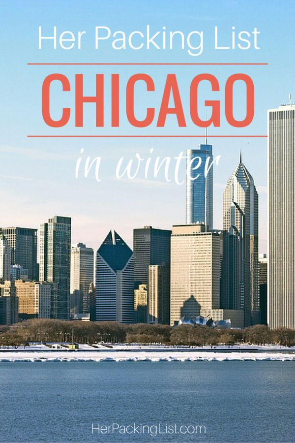 Ultimate Female Packing List for Chicago in Winter