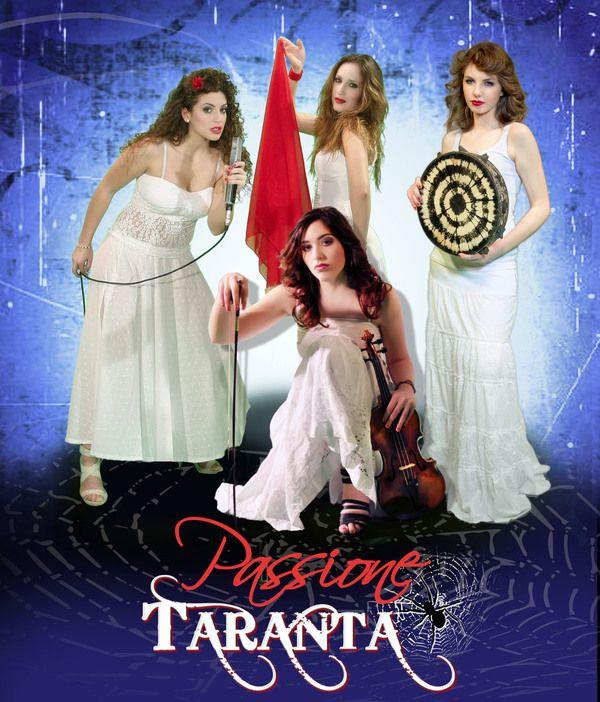 PASSIONE TARANTA - the female #pizzica #taranta band from #salento #italy copyright #TARANTAchannel and www.trio-amigos.com