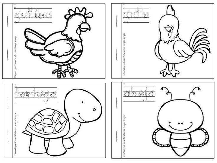 Mejores 24 imágenes de ANIMALES en Pinterest | Preescolar, Animales ...