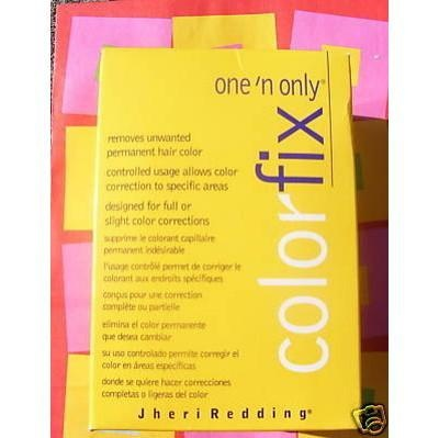 Jheri Redding One 'n Only Color Fix For Hair. Buy at sallys