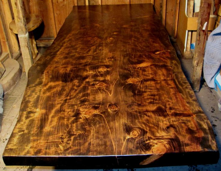 Redwood Table Top