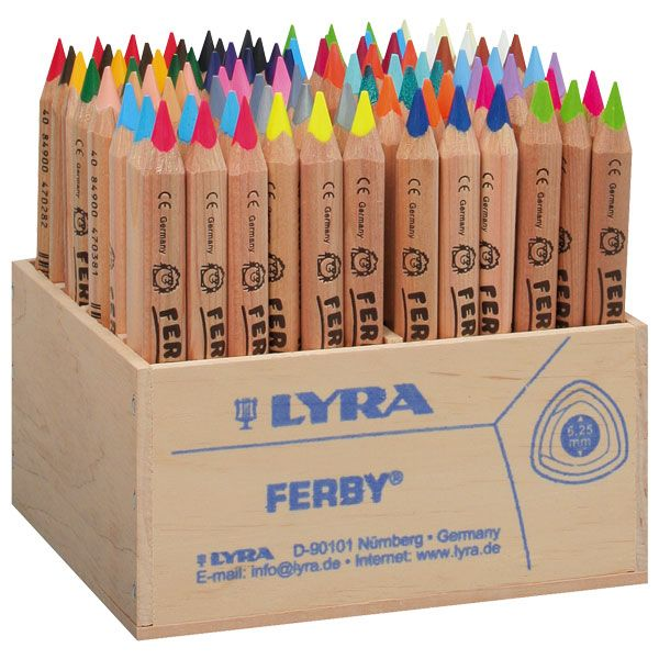 Lyra Ferby pencils. One of the BEST colored pencils in the world :)