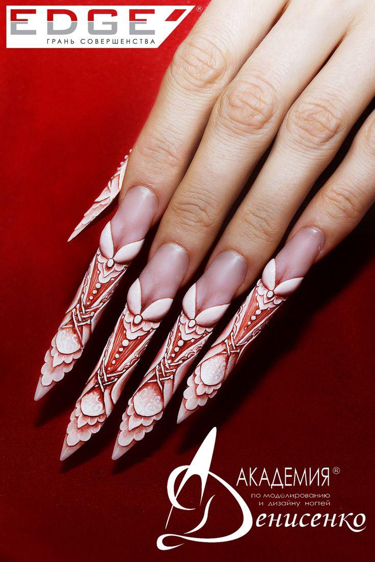 237 best edge nails images on Pinterest | Nail art ideas, Nail ...