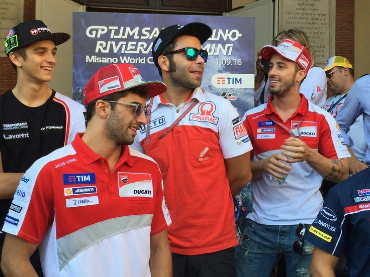 Maro,Andrea Iannone, Danilo Petrucci & Andrea Dovioso, Italiano 🇮🇹