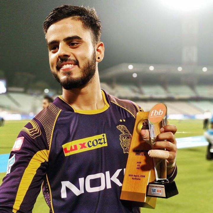 Man of the match- Nitish Rana #IPL2018 #KKRvDD -  facebook.com/MyCricketTrolls   Man of the match, Latest cricket news,  Cricket world cup