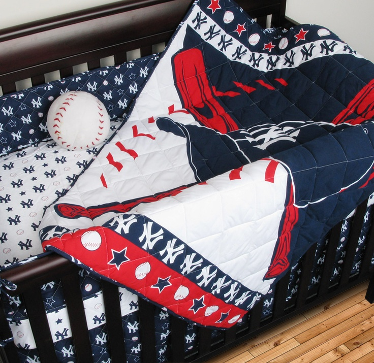 Sports Coverage Now Offers New York Yankees Crib Bedding In A Set To Include