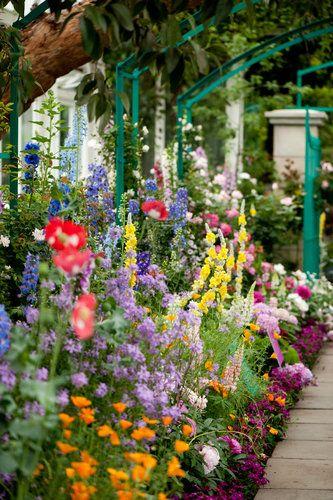 New York Botanical Gardens - Monet Garden saved by etsy.com/shop/OnceUponaTimeCo
