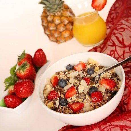 Gesund & lecker, hilft beim Abnehmen, viel Power am Morgen und hält lange satt. Es reguliert den Blutzucker und Kohlenhydrate vom ganzen Tag