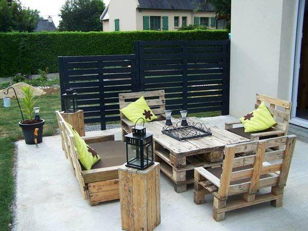 60 DIY Möbel aus Europaletten – erstaunliche Bastelideen für Sie - garten Möbel Europaletten essbereich