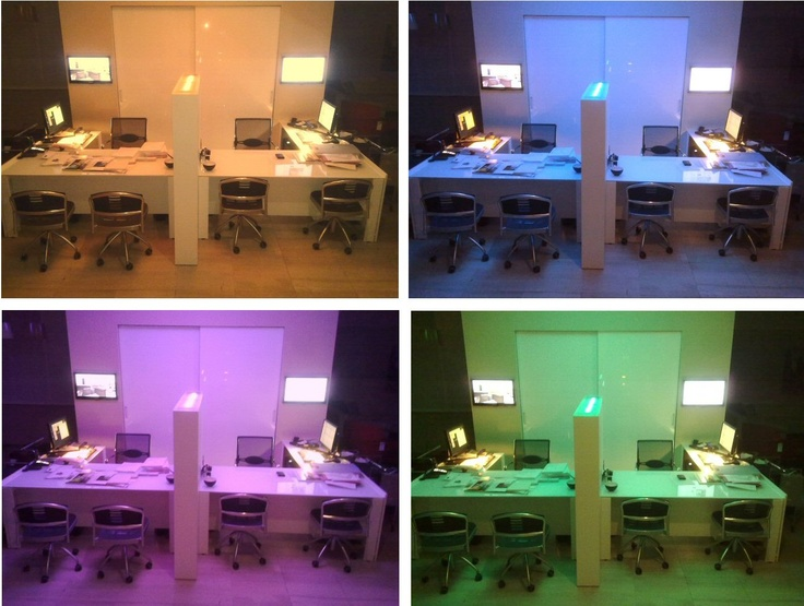 Our workstations to host customers and display 3D projects.