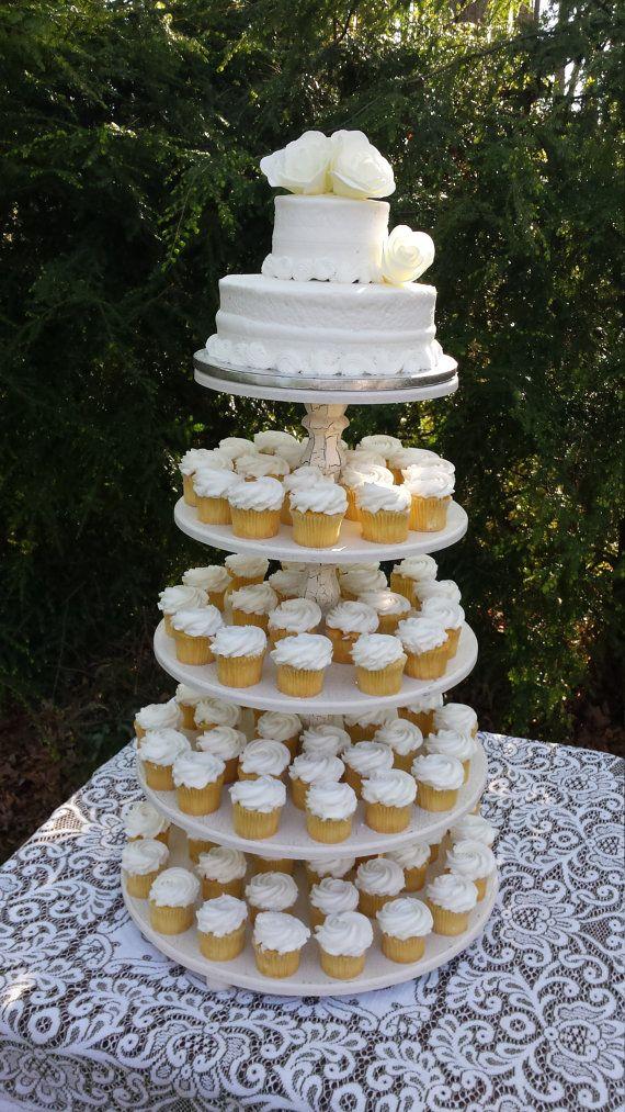 Soporte de la Magdalena soporte de la torta boda Cupcake