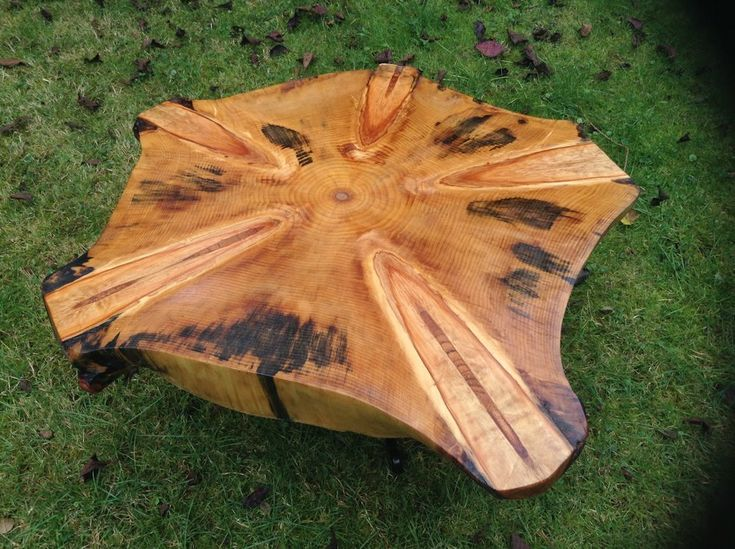 Hand Made Monkey Puzzle Coffee Table. Barnett Art and Design