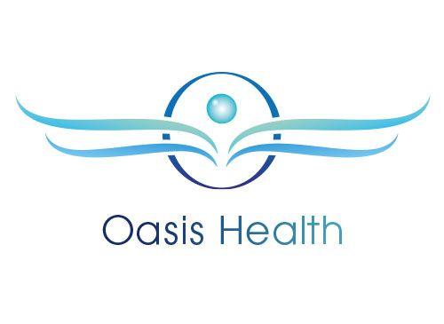 Logo, Arztpraxis, Oasis, Grafikpart
