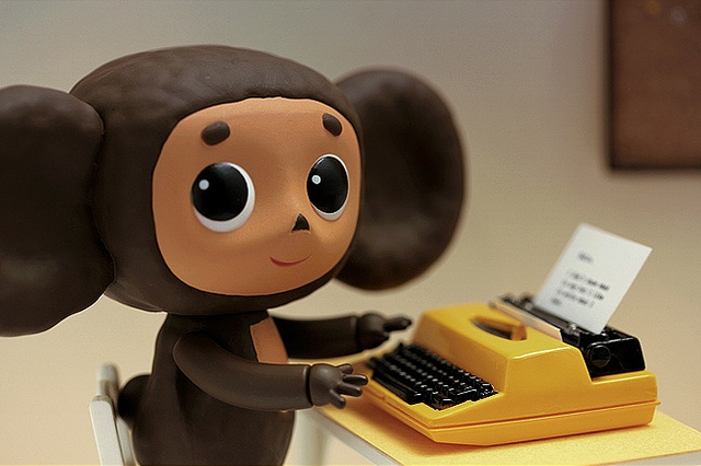 Cheburashka... Photo by Criss Garcia #toy #cheburashka