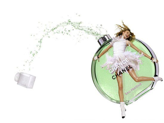 NEW 35ml bottle now available Chanel Chance Fraiche