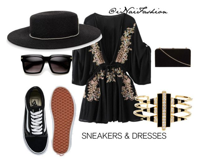 """""""Untitled #1230"""" by inaifashion on Polyvore featuring Eugenia Kim, Vans, Noir Jewelry, Dorothy Perkins, contestentry, fashionset and SNEAKERSANDDRESSES"""