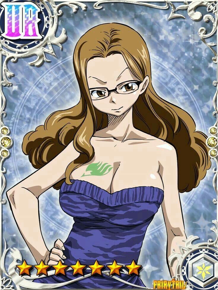 Evergreen エバーグリーン(Fairy Tail) in 2020 Fairy tail girls