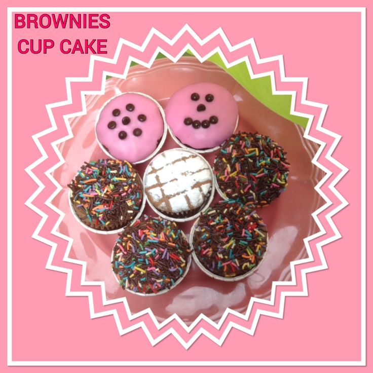 BROWNIES CUP CAKE