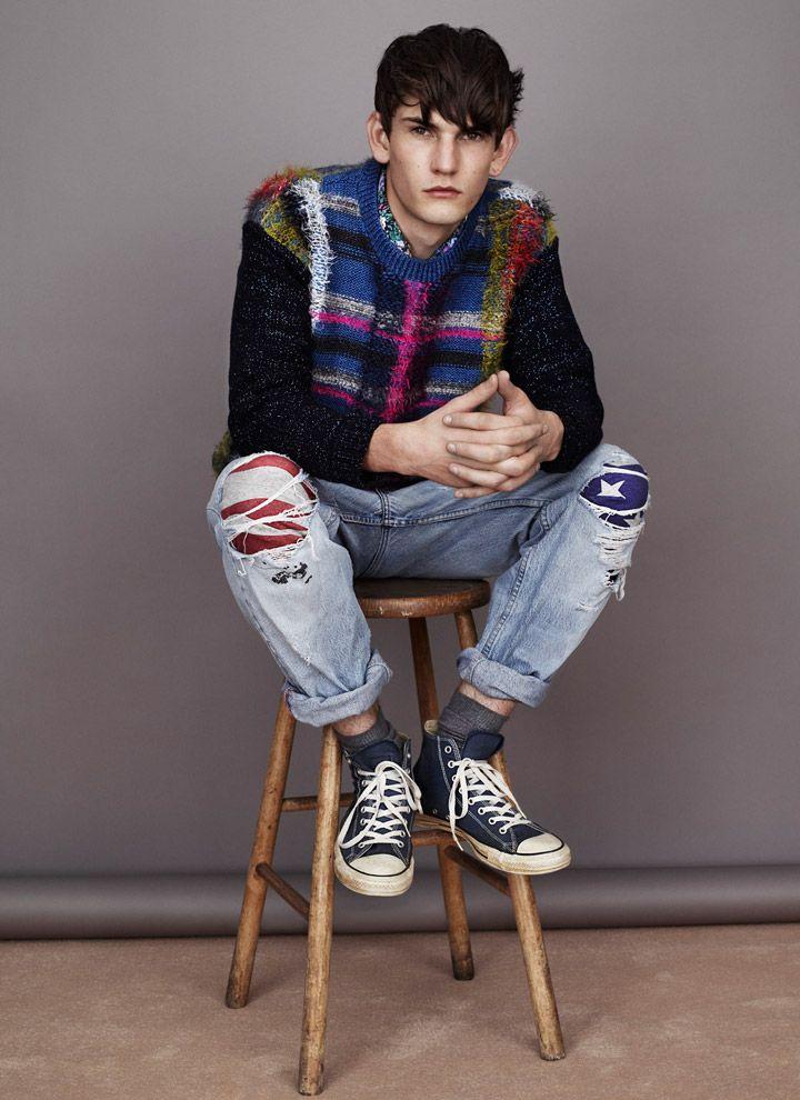 ::: OutsaPop Trashion ::: DIY fashion by Outi Pyy :::: James Long for Topman