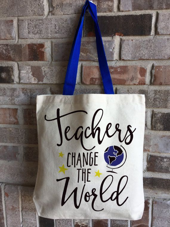 Teacher Tote Gift Gift for Teacher Gift for by CarryKindness