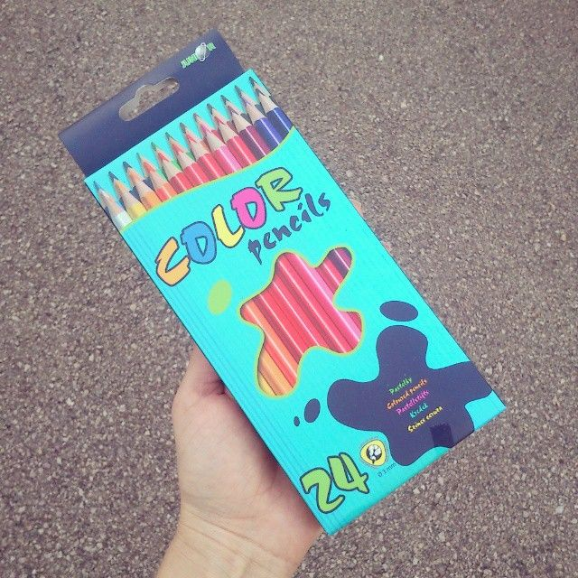 I got new colour pencils