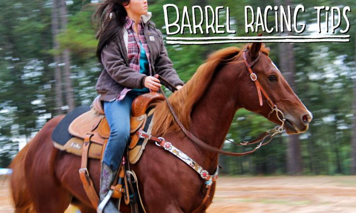 barrel racing tips for beginners on Crafted in Carhartt