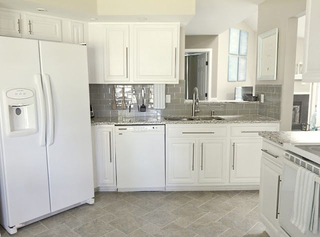 17 best images about customer pictures on pinterest gray for Kitchen cabinets lowes with tuesday morning wall art