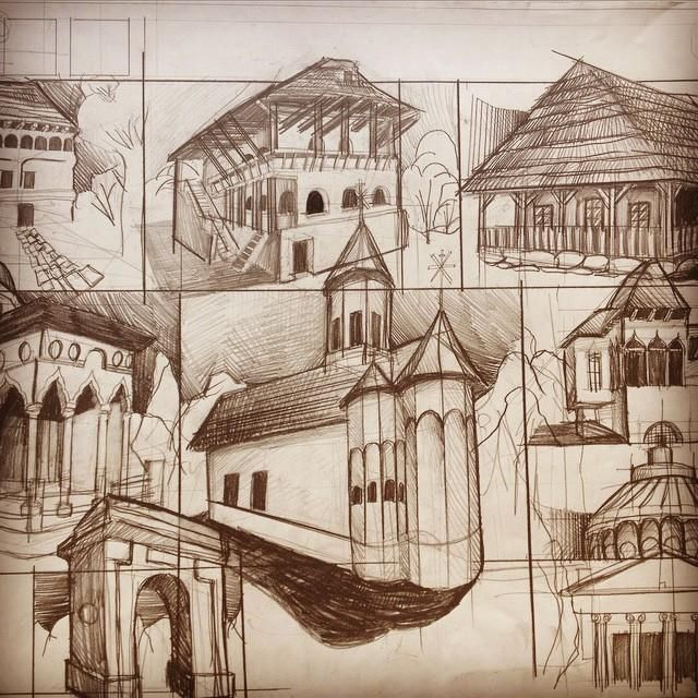 Remember, you draw from a distance of 50 cm, but your drawing is seen from 1.5, 3 and 6 meters away. What may seem 'too bold' at 50 cm can actually be really boring and stale at 3 meters... Follow me for more tips on architectural drawing and design.