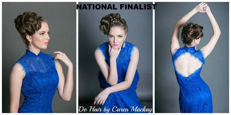 Hair by Caren Mackay, for the 2014 Patrick Cameron long hair editorial styling competition