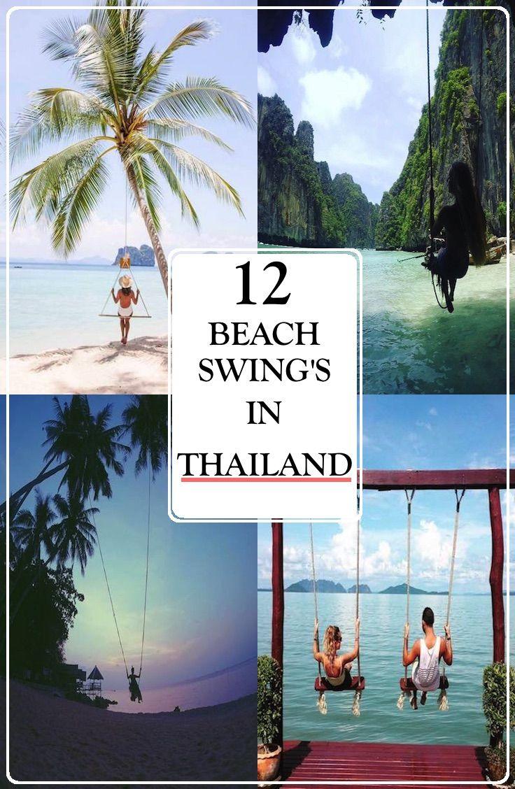 12 amazing beach swing's in Thailand