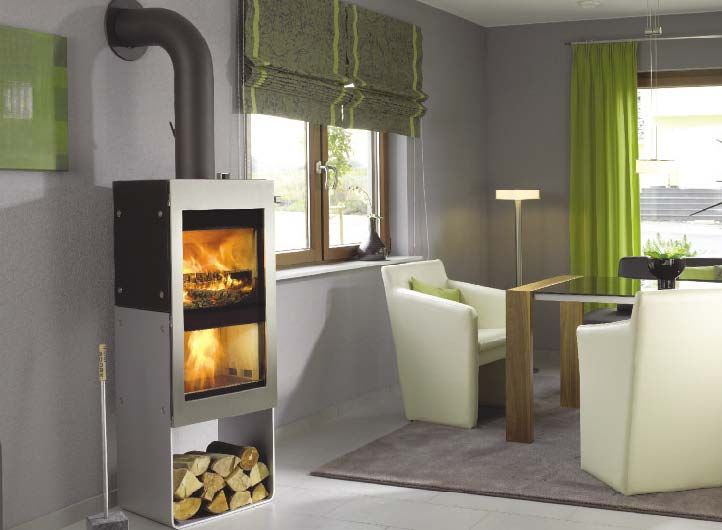 Energy Efficient Fireplace