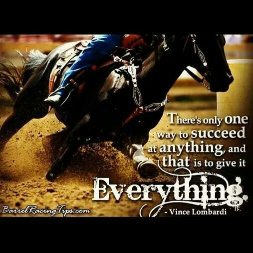 Barrel Racing Quotes Gorgeous Barrel Racing Quote Picture