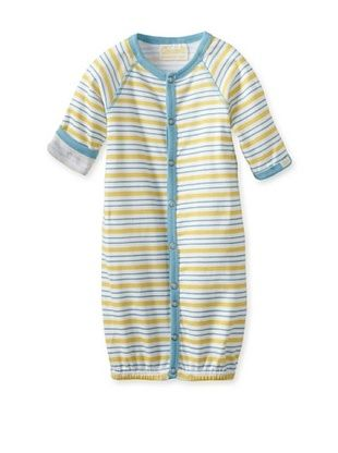 61% OFF Coccoli Baby Newborn Sunny Days Converter Gown (Ocean Blue/Yellow Stripes)