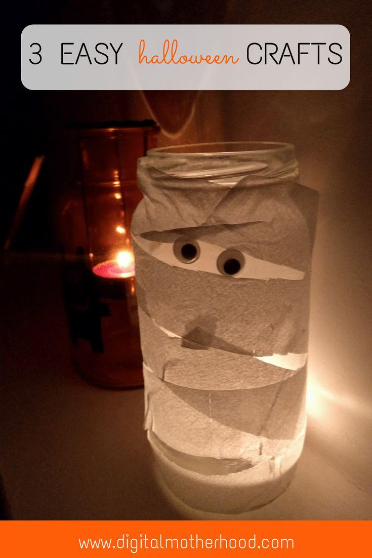 3 Easy Halloween Crafts To Do With Kids   Digital Motherhood