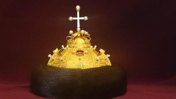 Шапка Петра I Которой был повенчан на царский трон.