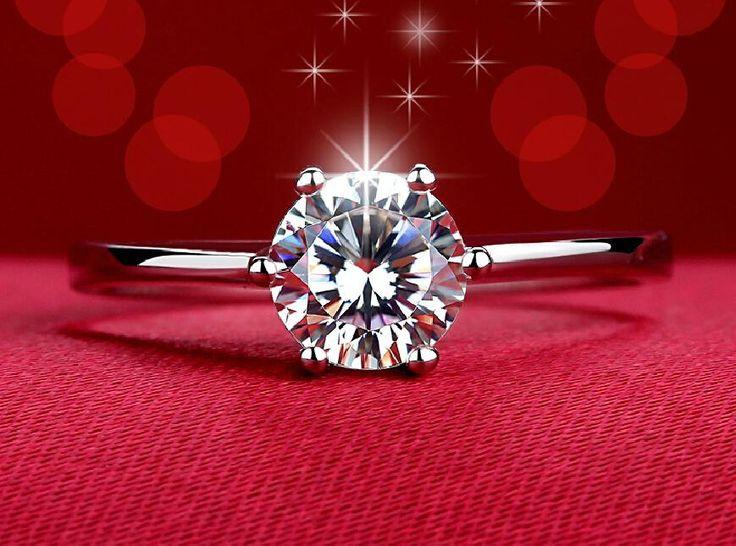 G1 18 К розового золота модный дизайн твин циркон CZ кольца с бриллиантами для женщин купить на AliExpress