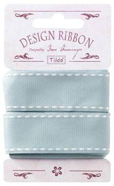 Tilda ribbon Seams Cadet Blue