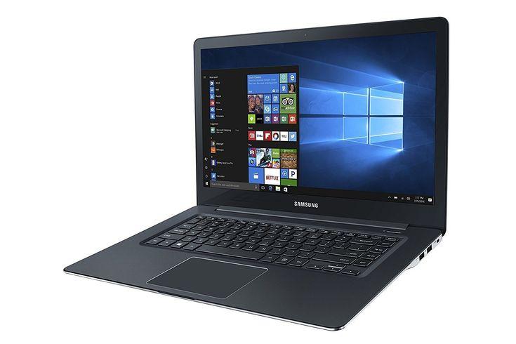 "Samsung ATIV Book 9 Pro 15.6"" 4K Ultra HD Touch-Screen Laptop - Intel Core i7-6700HQ - 8GB Memory - 256GB SSD - NVIDIA GTX 950M - Pure Black"