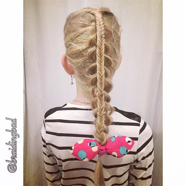 #stackedbraid of a #dutchbraid and a #fishtailbraid #braid #braids #braiding #braidinghair #braidideas #instabraids #letti #letit #lettikampaus #letitys #hairdo #hairdos #hairstyles #flette #plaitedhair #suomiletit #braidsforgirls #featuremeisijatytot #featuremejehat #hotbraidsmara #braidsforlittlegirls