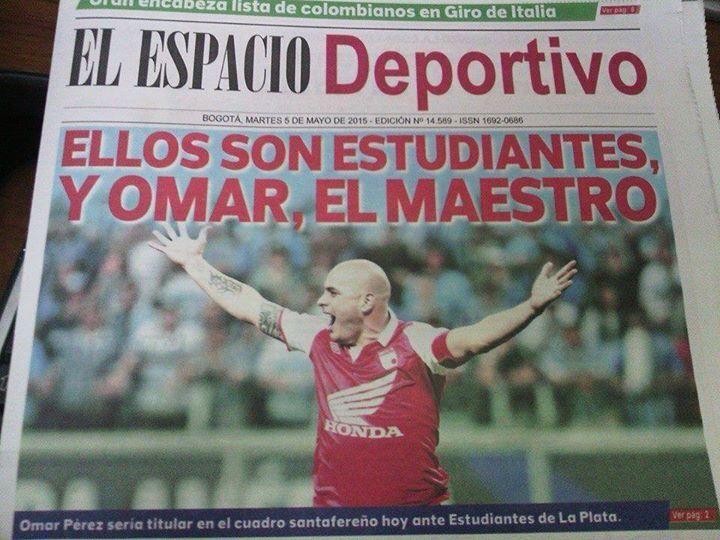 Omar Sebastian Perez, el Maestro de Independiente Santa Fe!!