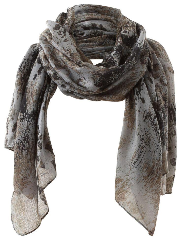 Passigatti - Schal mit Muster-Mix