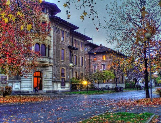 Autumn in Turin - Piazzale Duca d'Aosta