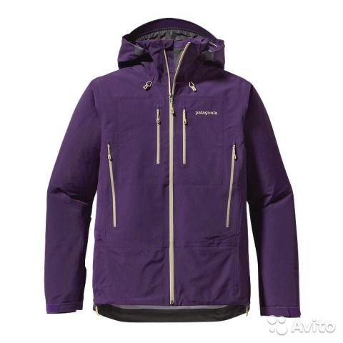 Жесткая хард-шелл куртка PATAGONIA оригинал, модель TRIOLET JACKET, арт.:83400. Цвет:фиолетовая(Tempest Purple). Производство Вьетнам. Куплена в США за 429 долларов + пересылка. Новая.