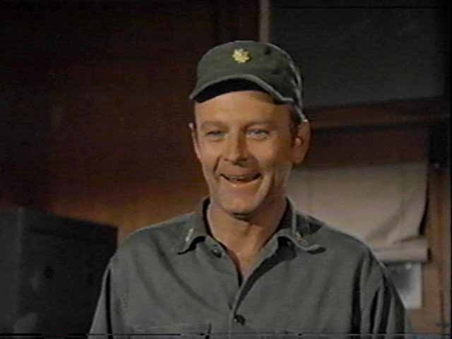 Major Frank Burns/Larry Linville - 'Without discipline the Army would just be a bunch of guys wearing the same color clothing.'
